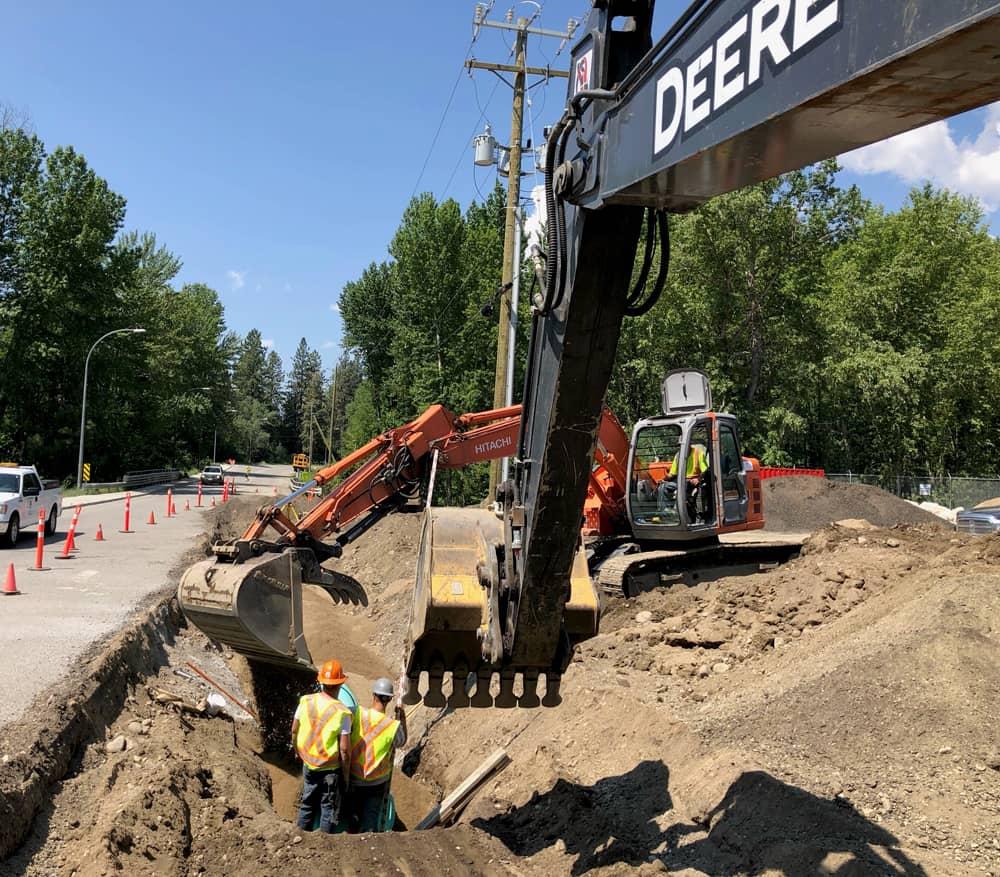 Excavation Contractors, Trucking Services, Civil Contractors | Civil-X Contracting | West Kelowna, B.C.